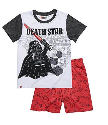 LEGO Star Wars Chicos Pijama mangas cortas – Blanco