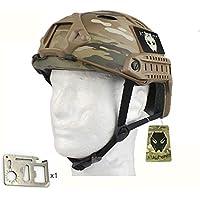 Worldshopping4U SWAT Army tipo de estilo militar combate FAST PJ MC Casco para Airsoft Caza Ciclismo exterior protectora