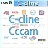 MU clina CCcam por 1 año de validez puede experimentar una prueba gratuita de un día con 3 RCA línea av línea envío libre por el poste de China