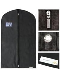 Hangerworld - Housse de Protection pour Vêtements - 100cm - Noir