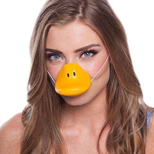 Schnabel Ente Gänseschnabel Entenschnabel Duck Entenkostüm Accessoire Tierschnabel -