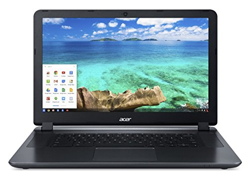 Acer CB3-532 15.5-Inch ComfyView/LED/LCD Notebook - (Granite Grey) (Intel N3160 Processor, 4 GB RAM, 32 GB eMMC, Chrome OS)