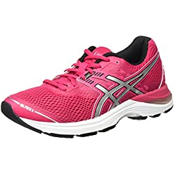 Asics Gel-Pulse 9, Scarpe Running Donna, Rosa (Cosmo Pink/Silver/Black), 38 EU