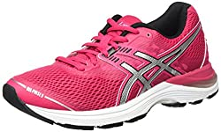 Asics Women's Gel-pulse 9 Gymnastics Shoes, Pink (Cosmo Pinksilverblack), 4.5 Uk