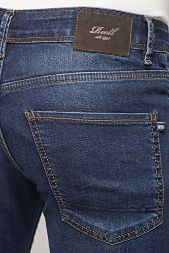 REELL Men Jeans Spider Artikel-Nr.1102-001 - 02-061 Dark Blue Used