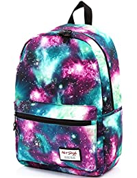 TRENDYMAX Galaxy Backpack Cute for School | 42x30x16cm | Holds 15.4-inch Laptop