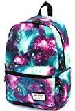 TrendyMax Galaxy School Bag Backpack | Holds 15.4-inch Laptop | 42x30x16cm | Green