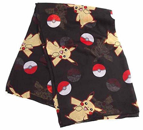 Pokémon - Poké ball and Pikachu Sjaal (Pop-schal)
