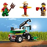 LEGO 60223 City Great Vehicles Harvester Transport Construction Set, Toy Truck and Minifigures, Farm Toys for Kids