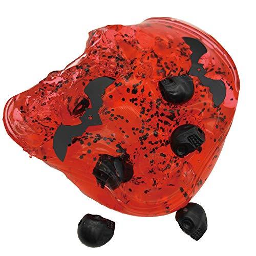 Wolke Schleim duftenden Halloween Schädel Stress Kinder Ton Spielzeug Super Stofftier für über 3 Jahre alt Jungen Mädchen sicher und ungiftig für Geburtstagsfeier bevorzugt Halloween - Krähe Kostüm Baby