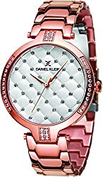 Daniel Klein Analog Silver Dial Womens Watch-DK11324-2