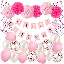 Suchergebnis Auf Amazon De Fur Geburtstagsdeko Rosa