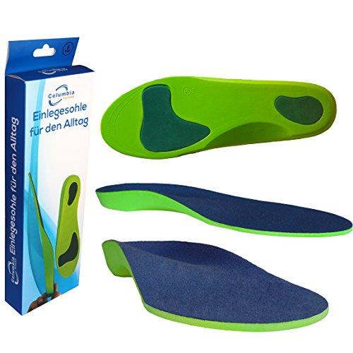 Orthopädische Einlegesohle / Schuhsohlen / Schuheinlage Größe S 39 -41 Sport-Einlegesohlen Einlagen - Fersen - Fußballen Unterstützung Arbeitsschuhe / Laufschuhe / Fersensporn