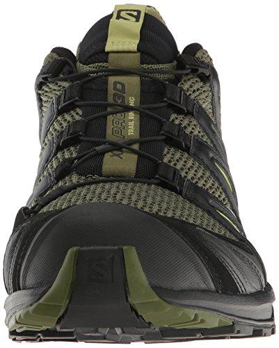 Salomon XA Pro 3D, Chaussures de randonnée homme vert noir