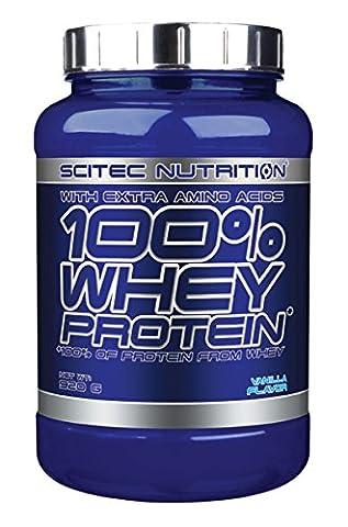 Scitec Nutrition 25572 Protéines Whey Protein aux arômes de vanille