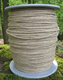 Hanfseil - Hanf-Seil Durchmesser 4 mm - 500 Meter auf Scheibenspule - 100% Naturhanf