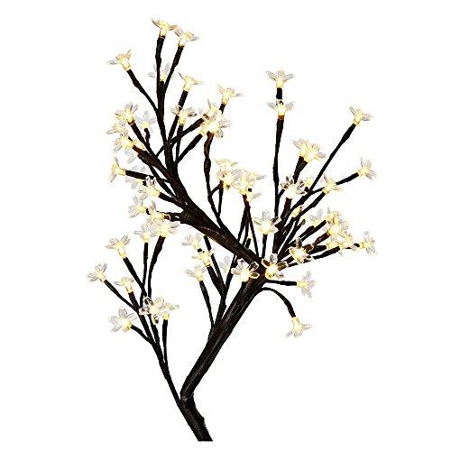 180LED bianco caldo con illuminazione a LED, motivo ciliegio in fiore per Natale/partito