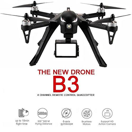 MJX B3 Bugs Estándar Quadcopter Drone Carrier Drone Bidireccional 2.4G 4CH 6-Axis...
