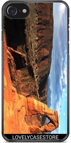 SilikonHülle für Iphone 7/7S - Grand Canyon Arizona USA USA Arid Wüste Klippe