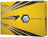 Callaway 2017 Warbird Hex Aerodinamics® Mens Golf Balls-Designed for Distance 1 Dozen White