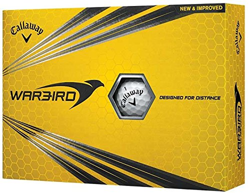 Callaway Warbird Golf Balls, White, One Size