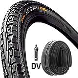 Continental Reifen Ride Tour E25 Draht 26x1,75-1,9 + Schlauch 47-559 schwarz