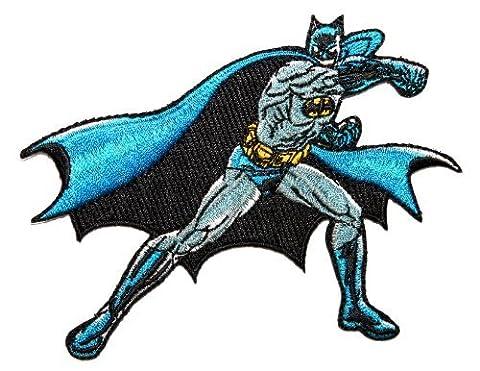 Batman Dark Knight Gotham Action Pose DC Comics Superhero Iron On Applique Patch by Cool-Patches