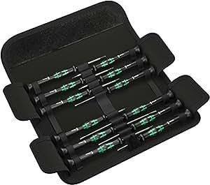 Wera Kraftform Micro-Set/12 SB 1 05073675001 Jeu de tournevis électronicien 12 pièces