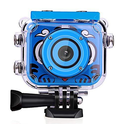 Wimaha 1080P Action Kinder Kamera Unterwasserkamera Wasserdicht Digitalkamera für Kids Jungen Mädchen mit 2,0 LCD-Bildschirm