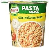 Knorr Snack Bar Pasta Snack Käse-Kräuter-Sauce 1 Portion (8 x 65 g)