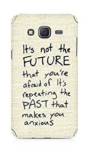 AMEZ its not the future that you are afraid of past Back Cover For Samsung Galaxy J5