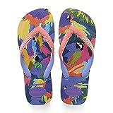 Havaianas Top Fashion, Infradito Donna, (Blue Star 3847), 37/38 EU (35/36 BR)