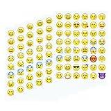 Emoji Aufkleber 20 Blätter mit glei...