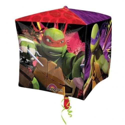 Teenage Mutant Ninja Turtles Keine Nachricht 38.1cm Würfel Folien Ballon