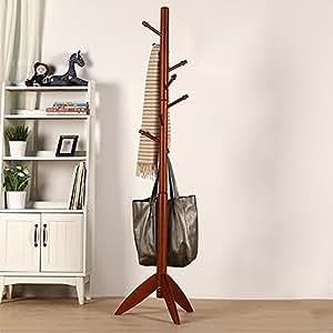 Appendiabiti Moderno.48 Cm Mensola Appendiabiti Colore Brown 175 Scaffale