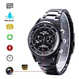 Hidden Camera Wrist Watch Camera Waterproof Hidden Spy Camera with Smart Watch HD