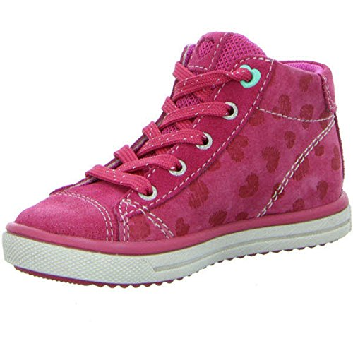 Lurchi Secil, Chaussons montants fille 23°fuchsia