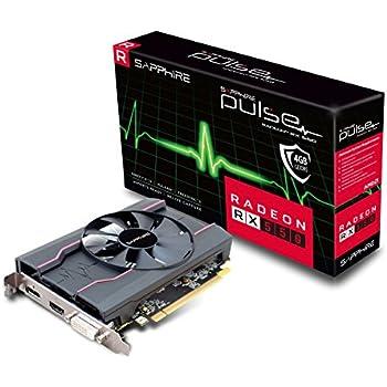 Sapphire 11268-15-20G Radeon RX 550 4GB GDDR5 - Tarjeta gráfica (Radeon RX 550, 4 GB, GDDR5, 128 bit, 5120 x 2880 Pixeles, PCI Express 3.0)