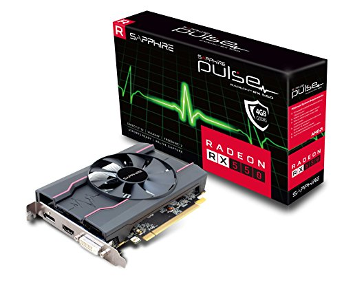 Price comparison product image Sapphire Radeon RX 550 Pulse Radeon RX550 Graphic Card 4096 MB
