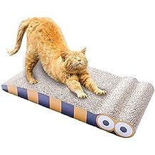 MORFONE rascador de gato, salón de gatos, duradero y reversible, almohadilla para rascar mascotas y sofá