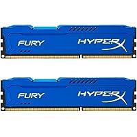 HyperX Fury HX318C10FK2/16 Arbeitsspeicher 16GB (1866MHz, CL10, 2x 8GB) DDR3-RAM Kit blau