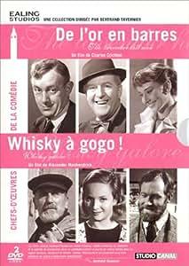 """Ealing Studios - Coffret """"Comédie"""" - De l'or en barres + Whisky à gogo"""