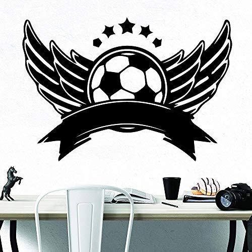 Geiqianjiumai Estilo de Dibujos Animados patrón de fútbol decoración del hogar decoración...