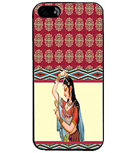 PrintDhaba Pattern D-3792 Back Case Cover for APPLE IPHONE 4S (Multi-Coloured)