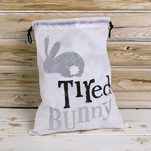The Bright Side Bunny Pyjama Beutel–Müde Bunny Schlafanzug Kordelzug Tasche