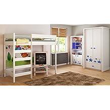 suchergebnis auf f r hochbett 160x200. Black Bedroom Furniture Sets. Home Design Ideas