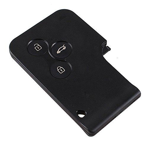 Remote Key Case Fob 3 Botones para Renault Clio Megane Scenic Gran reemplazo dominante escénico caso de la cubierta del Fob by Keyfobworld