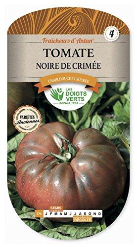Les doigts verts Semence Tomate Noire De Crimée