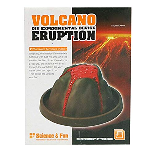 CWorld Volcano Eruption DIY Experimental Device (Multicolour)
