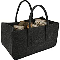 Felt Bag Brown Felt Bag Shopper Newspaper Bag Dekoration bastel basket shopping basket ... by best ambiente